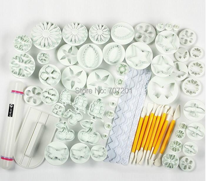 Cake Decorating Roll Out Icing : 21-Sets-68-Pcs-Sugarcraft-Cake-Decorating-Fondant-Icing ...