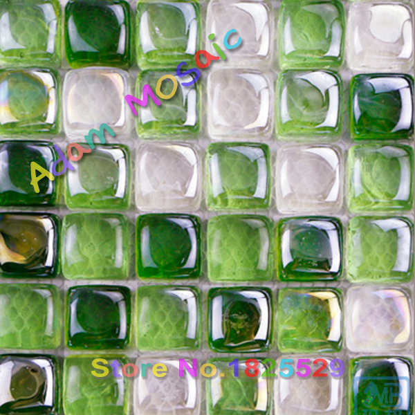 Popular Round Bubbles Glass Tile Mosaic Buy Cheap Round