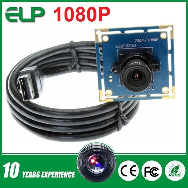 Full HD 2 megapixel 1080p micro CMOS board oem video door phone usb camera Android, Linux, Windows CE, Mac OS(China (Mainland))