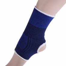 2 X Elastic Knitted  Ankle Brace Support Band Sports Gym Protects Therapy  Hot Selling(China (Mainland))