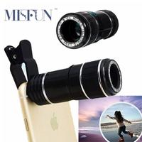 Universal 12X Zoom Optical Telephoto Telescope Mobile Phone Camera Lens for Iphone 4 5 6 6s Samsung Sony LG Xiaomi Huawei More