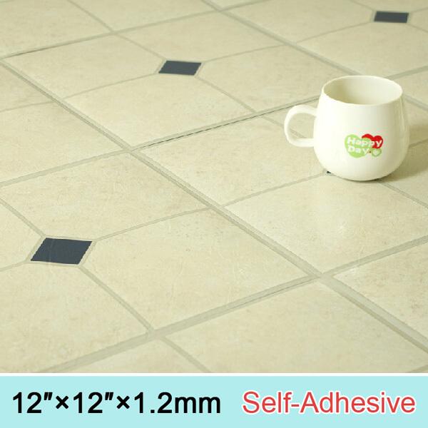 Ceramic Look Antislip And Waterproof Bathroom Using Thickness Self Adhe