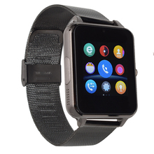G6 bluetooth smart watch for android phone sport reloj inteligente Support SD SIM card Steel leather strap PK DZ09 GT08 Q18 A9(China (Mainland))