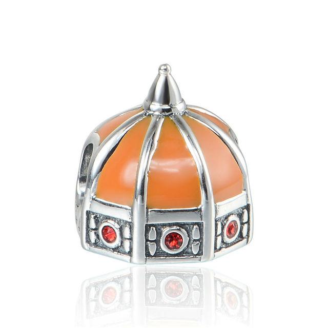 925 - серебристо-ювелирные бусины X384 флоренция шарм бусины Fit Chamilia пандора браслет серебро 925 ювелирных изделий DIY