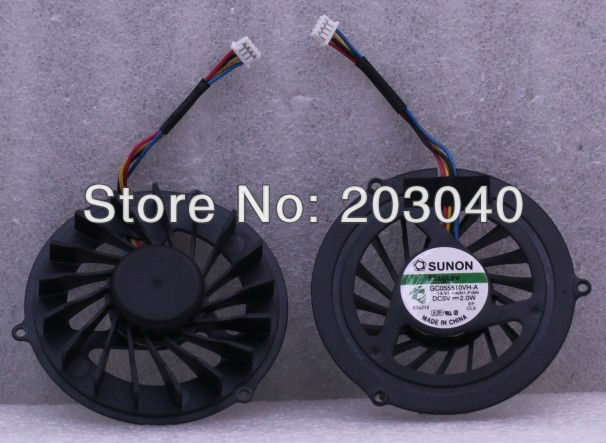 New CPU Cooling Fan Fit For acer/asus/lenovo/hp etc laptop/netbook GC055510VH-A 13.V1.B3960.F.GN(China (Mainland))