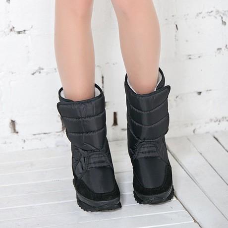 ซื้อ ผู้หญิงรองเท้าผู้หญิงที่อบอุ่นรองเท้าฤดูหนาวที่มีสีสันบูตหิมะ2016แฟชั่นใหม่ขาเข้า