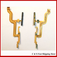 10Pcs/Lot,Original Power On/Off Volume Button Flex Ribbon Cable For Sony Xperia Z4 tablet Repair Part Free Shipping