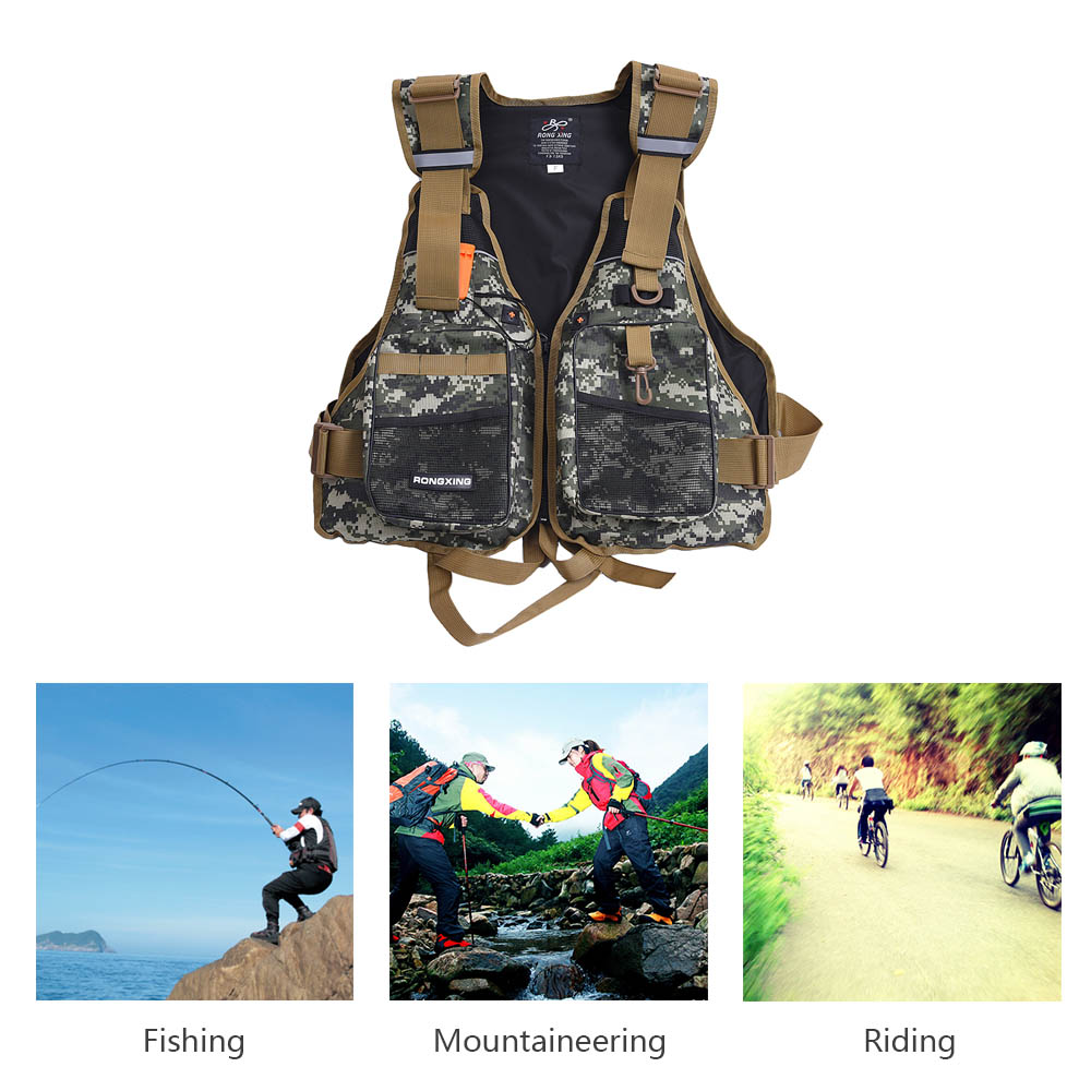 Professional Life Vest Life Safety Fishing Clothes High Quality Life Jacket Water Sport Survival Suit Water Safety Products(China (Mainland))