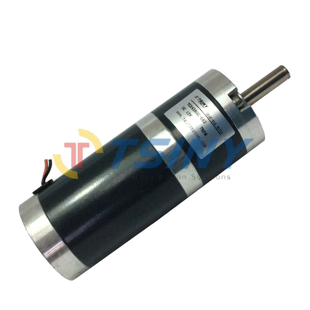 Buy Dc Gear Motor High Torque 45mm Dia