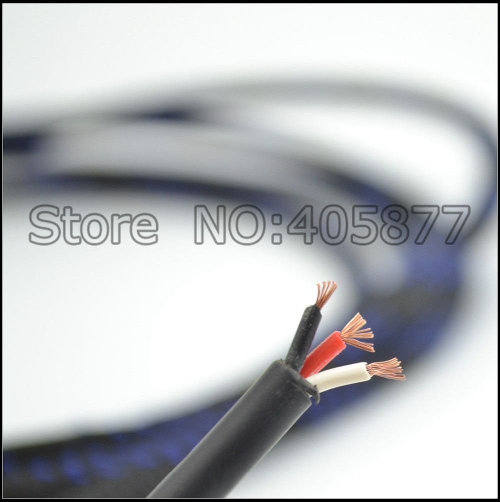 High quality copper XLR balance audio cable Balanced Interconnect Audio Cable One Pair For DAC Preamp Power Amplifier