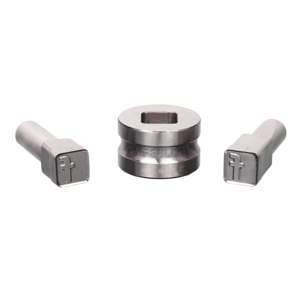 TDP-5T (12MM) Facebook Polygon Rectangle pill Stamp Die Mold/ Pill Press Molds/Moulds for Punch Tablet Press Machine(China (Mainland))
