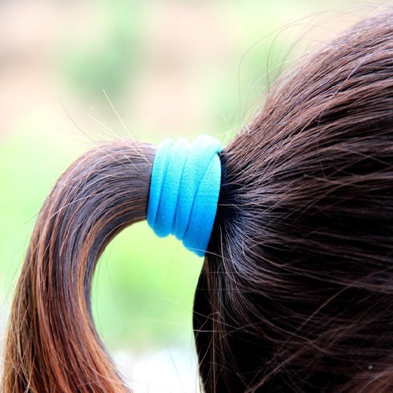 10pcs NEW Hair Accessories Elastic Bands For Hair Gum Female Headband Braiding Hair Care Product Style Tools(China (Mainland))