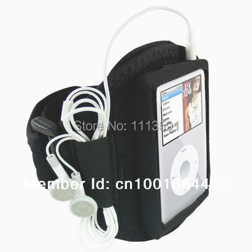 SPORT GYM RUNNING ARMBAND PHONE CASE HOLDER FOR IPOD CLASSIC 80GB 120GB 160GB(China (Mainland))