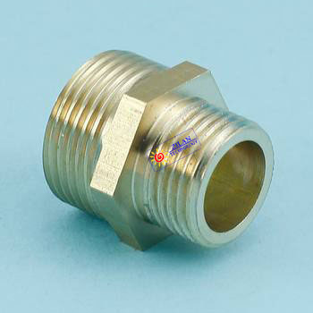 """3/4"""" to 1/2"""" reducing brass adapter for solar water heater solar collector flat solar panel adapter(China (Mainland))"""