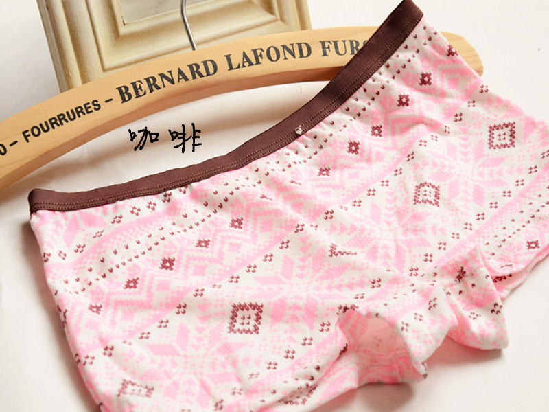 2015 New Young Girl Folk Style Series Panties Snowflake Cute Lace Solid Cotton Breathable Girl Briefs