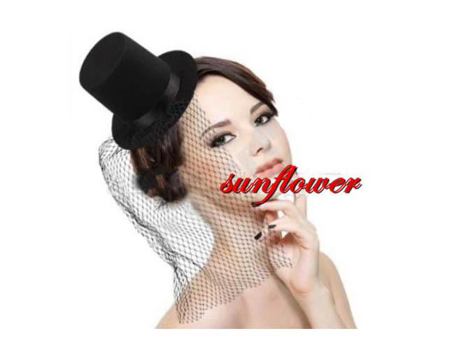 Mini Top Hat Costume Accessory Adult Womens Halloween(China (Mainland))