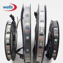 Buy New 5V Led Strip Non-waterproof 5M 32 LEDS/M WS2801 SMD 5050 RGB LED Pixel 32pcs WS2801 IC Led Light White/Black PCB Strip Light for $26.22 in AliExpress store