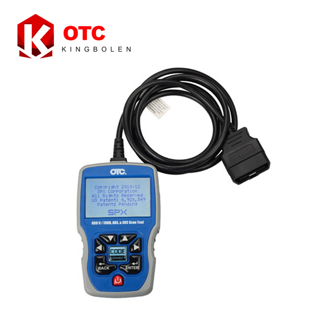 2017 New Arrival OBD 2 Code Reader OTC OBDII/CAN/ABS/Airbag (SRS) Scan Tool OBD2 EOBD Code Reader DHL Free Shipping