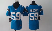 2016 Women Ladies Carolina Panthers,1 Cam Newton 59 Luke Kuechly #24 Norman,#88 Olsen()