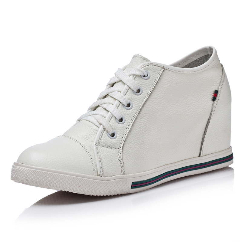 Girls Wedge Sneaker High Top (Colima03) Youth. Lace up casual high top sneaker with hidden wedge. Or Great for Pageant Girls. Wedge Style. Perfect for back to School, Parties, Flower girls.