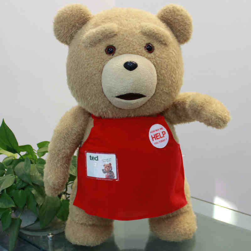 Toys For Ted : Movie teddy bear ted plush toys in apron cm soft stuffed