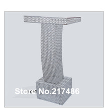 High Quality Clear crystal  Lectern/Lucite Wedding Centerpieces Pedstal(China (Mainland))