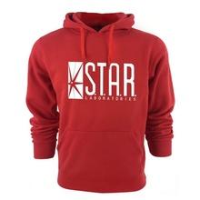 2016 STAR S.T.A.R.  mens Hooded Hoodies sweatshirt jumper the flash gotham city comic books superman tv series o-neck Hoodies(China (Mainland))