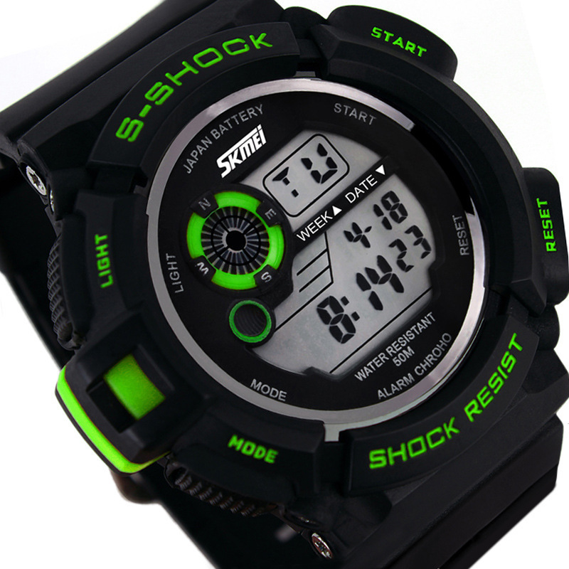 skmei G Style Digital Watch S Shock Men military army Watch water resistant Date Calendar LED
