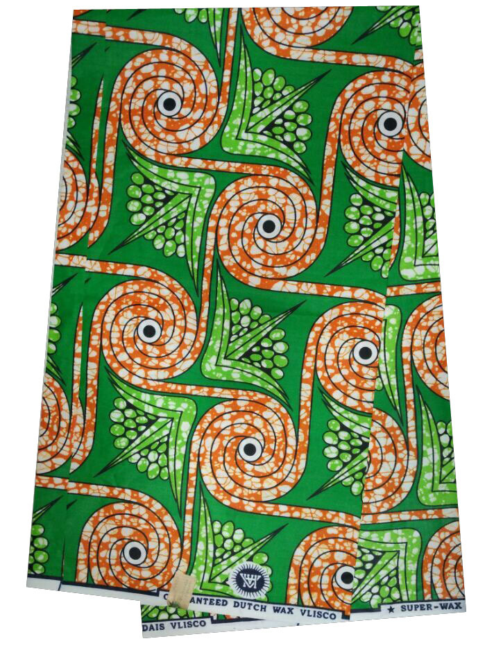 Designer Fabrics By The Yard For Clothing New design SUPER WAX