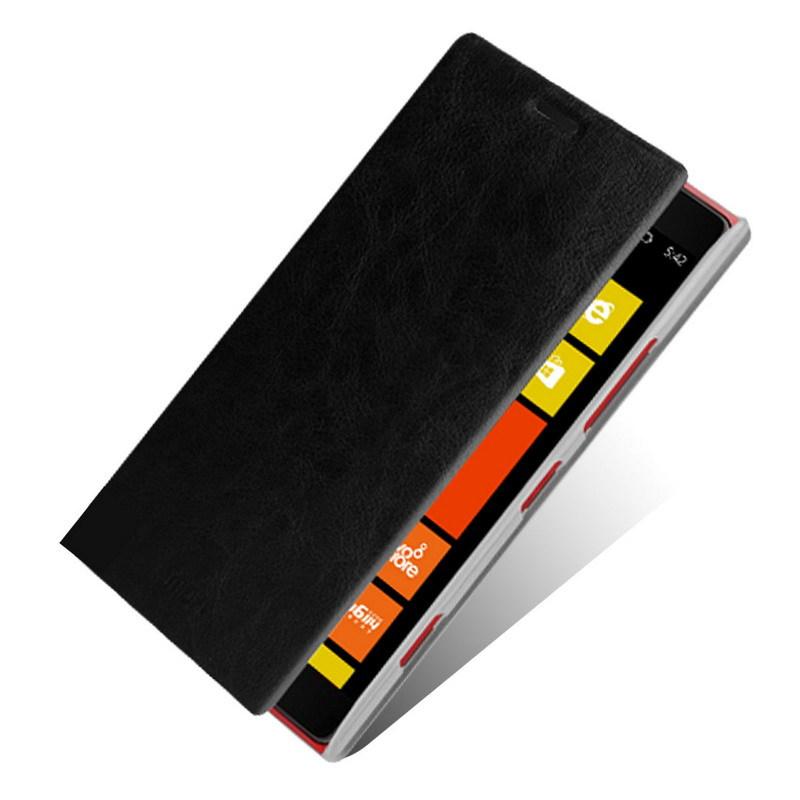 2шт/лот, 100% реальные Неподдельные кожаный чехол обложка для Nokia Lumia 1520 чехол с подставкой,