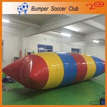 Free logo printing ! Free pump ! Manufacturer ! 9x3m Inflatable Water Blob,Inflatable Water Pillow,Lake Blob For Sale(China (Mainland))