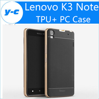 Lenovo K3 Note A7000 Case Original Fasion Luxury TPU&PC Back Case Cover With Frame ipaky Brand For Lenovo K3 A7000 Free Shipping