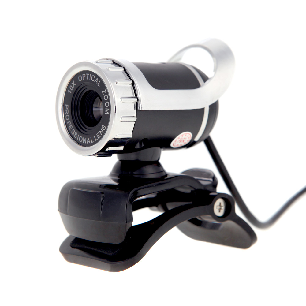 US STOCK USB 2.0 Webcam Clip-on Webcam Web Camera HD 12 Megapixels PC Camera with Built-in Microphone for Computer Laptop(China (Mainland))