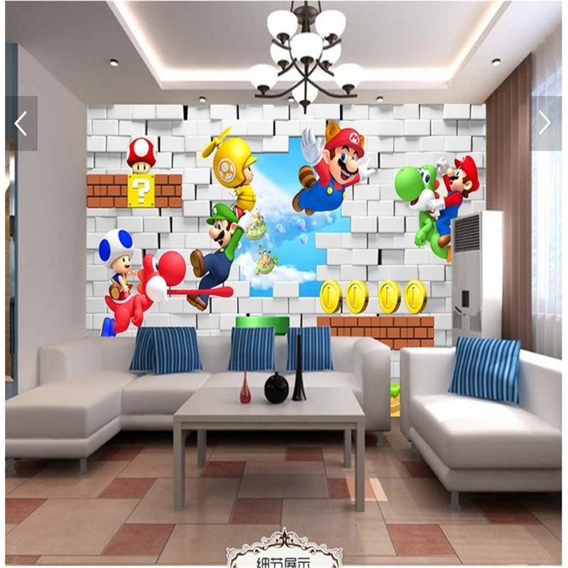 achetez en gros mario papier peint en ligne des grossistes mario papier peint chinois. Black Bedroom Furniture Sets. Home Design Ideas