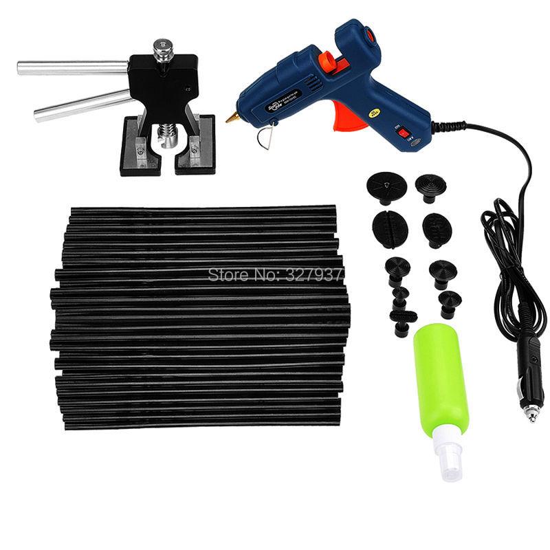 Фотография PDR Paintless Dent Repair Tool Professional Hot Melt Glue Sticks Glue Gun Dent Lifter Puller Tabs PDR Toolkit Herramentas