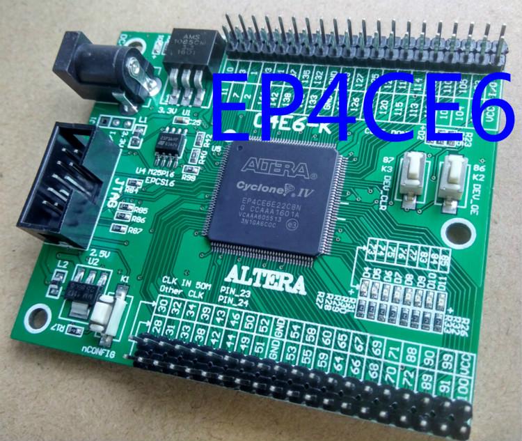 Free shipping EP4CE6 altera fpga board fpga development board fpga altera board + fpga development board cyclone IV(China (Mainland))