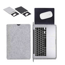 """Premium Wool Felt Soft Sleeve Bag Case Notebook Cover for 11"""" 13"""" 15"""" Macbook Air Pro Retina Laptop Tablet PC Anti-scratch(China (Mainland))"""