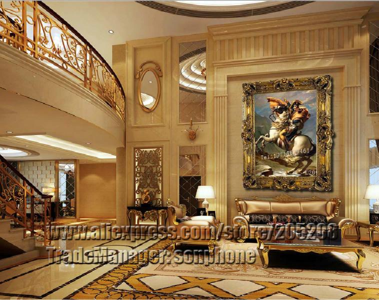 Framed Napoleon Class Oil Painting Portrait Canvas Art Picture Wall Decor DK0008(Hong Kong)