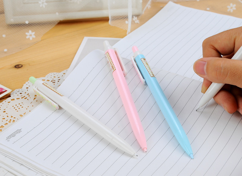 Гаджет  0.5mm Cute Kawaii Plastic Mechanical pencil Lovely Flower Automatic Pencil for Kids School Supplies Free shipping 557 None Офисные и Школьные принадлежности