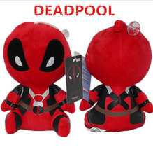 20cm kawaii Deadpool Dolls Anime Plush Toy juguetes Periphery Lovely Doll Stuffed Plush Toys for Child Kids Toys Gift nerf