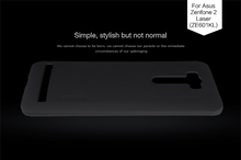 Buy Nillkin Super Frosted Shield Case Back Cover For Asus Zenfone 2 Laser ZE601KL (6.0inch) High Quality Case + Screen Protector for $7.57 in AliExpress store