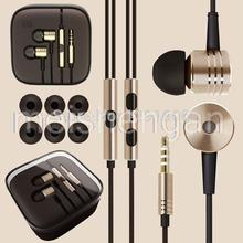 High Quality Metal Subwoofer Headset Earphone fone de ouvido with Microphone For Xiaomi M1 HTC Huawei LG SONY Earphones Cuffia