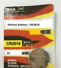 Buy 100% original Japan Brand new Wholesale 5pcs/lot CR2016 DL2016 ECR2016 GPCR2016 3V lithium battery Button cell coin battery for $2.81 in AliExpress store