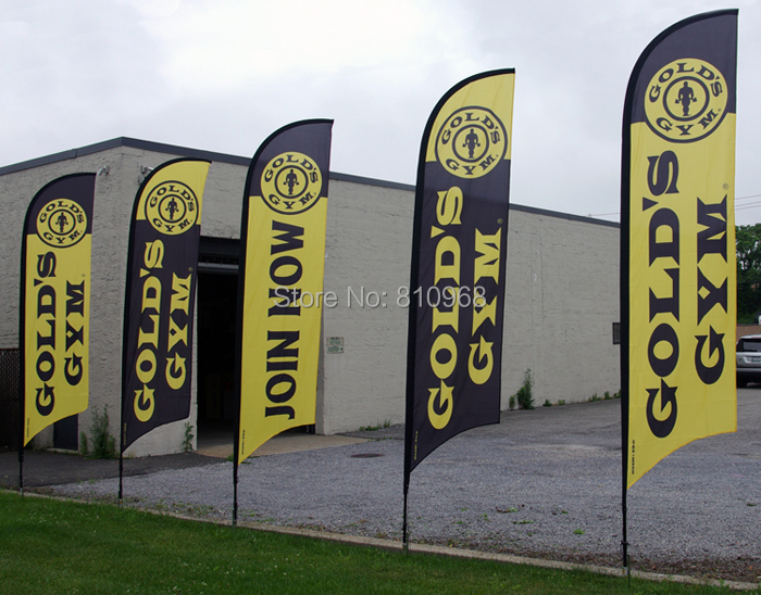 6pcs of 300X70CM feather banner, free shipping to Mexico, USA, Canada, Australia, NewZealand, Sweden, France...(China (Mainland))