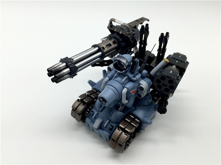 Free shipping Video Computer Game Metal Slug Tank Model With Weapons Action Figure Mini Cute Collection with original box(China (Mainland))