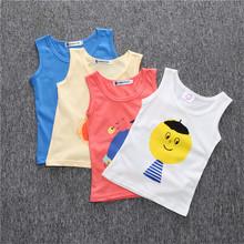2016 Bobo Choses Retro Girls T-shirts Top Tank Summer Children's Clothing Kids Boy Clothes