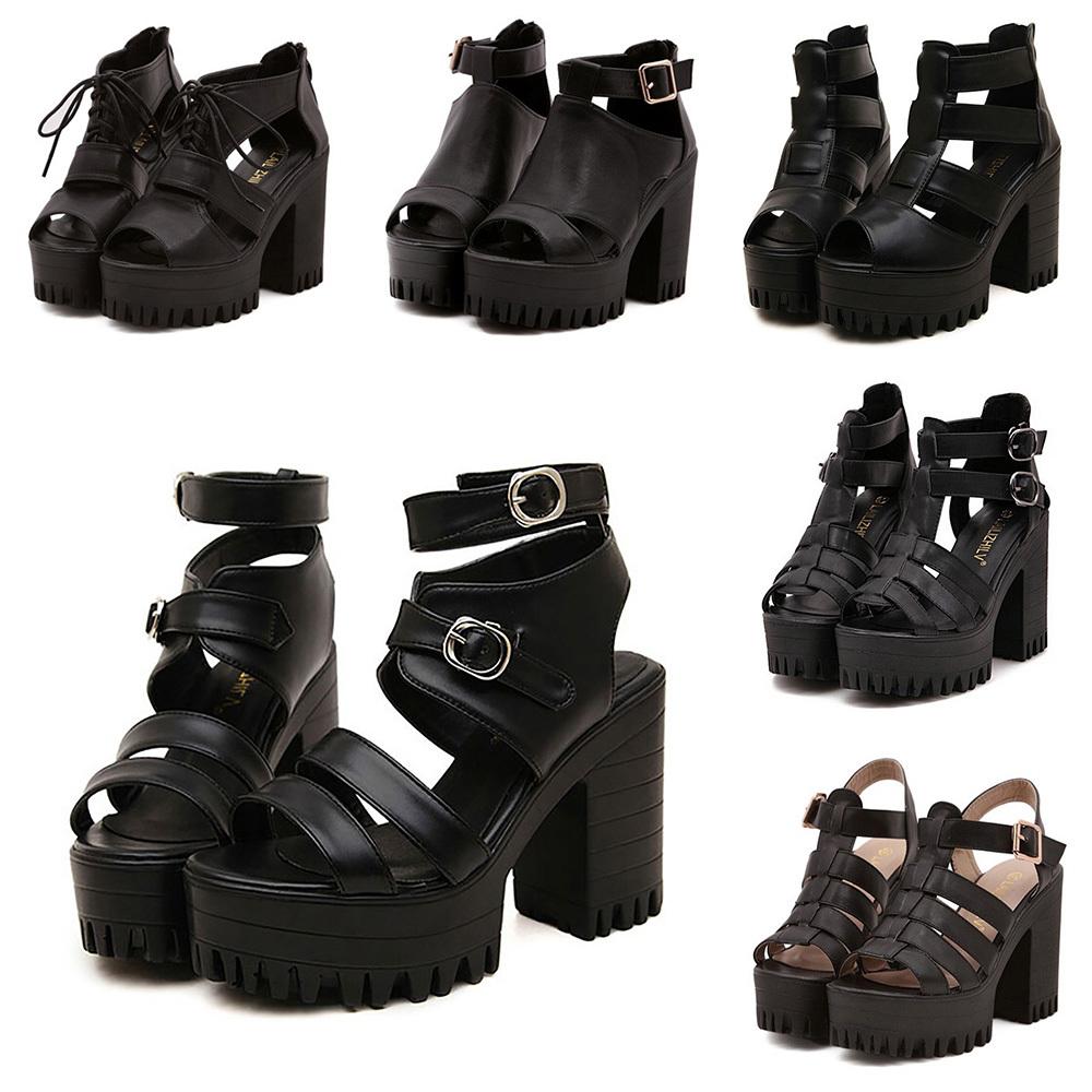 Gladiator Style High Heels
