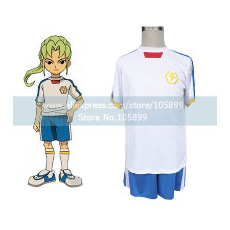 Inazuma Eleven Inazuma Japan Summer Soccer Uniform Cosplay Costume(China (Mainland))
