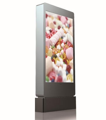 Outdoor 55inch 65inch 1500cd/m2 multi media LED lcd PC/android network HD Kiosk AD Digital Signage Display(China (Mainland))