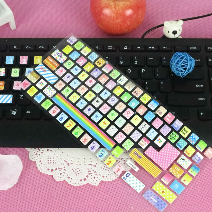Shop for Computer Keyboard Stickers in thousands of beautiful designs and sizes. You can stick them on almost anything from laptops and phones to notebooks and guitar cases.